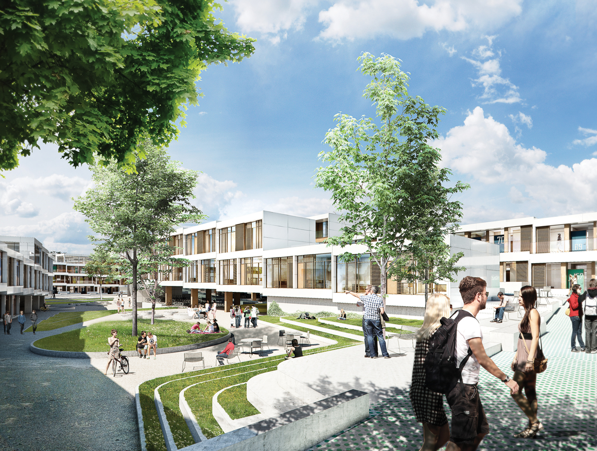 Nyt kollegium ved Syddansk Universitet, Odense